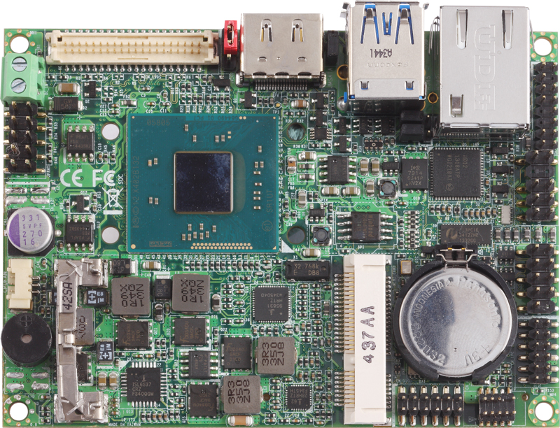 Commell Lp 173 Pico Itx Embedded Motherboard With On Board